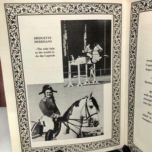 Vintage Accents - Vntg Herrmann Royal Lipizzan Stallions Pamphlet